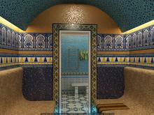 Загородный дом «Бассейн с зимним садом», баня сауна . Фото № 25324, автор Кирилюк  Константин