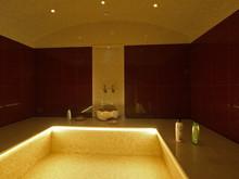 Загородный дом «Дизайн интерьера трехэтажного дома в стиле контемпорари», бассейн . Фото № 25940, автор Старых Станислав