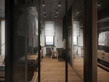 Загородный дом «Дом в Московской области», гардеробная . Фото № 26194, автор Master project Архитектурное бюро