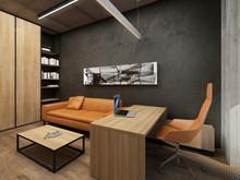 Загородный дом «Дом в Московской области», кабинет . Фото № 26191, автор Master project Архитектурное бюро