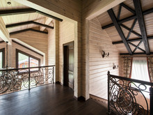 Загородный дом «Загородный дом в традиционном стиле», холл . Фото № 26292, автор Архипова Анастасия