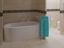 Загородный дом «Дом в Ростовской области 400м2», ванная . Фото № 26679, автор Дегтярцева Вероника