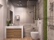 Загородный дом «Частный дом в Юкках», ванная . Фото № 26958, автор Иванов Алексей, Wide Design Group