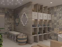 Загородный дом «Частный дом в Юкках», баня сауна . Фото № 26961, автор Иванов Алексей, Wide Design Group