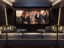 Загородный дом «Частный кинозал с винной комнатой, дискотекой и караоке», домашний кинотеатр . Фото № 27013, автор Боенич Александр