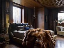 Загородный дом «Деревянная шкатулка», спальня . Фото № 27237, автор Гумирова Наиля
