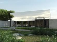 Загородный дом «Дом в Репино», фасад . Фото № 27364, автор background архитектурная студия
