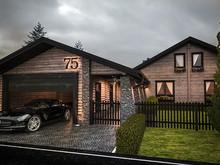 Загородный дом «Slavenka», гараж . Фото № 27492, автор INRE