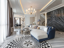 Дизайн интерьера виллы в Монако, фото № 7555, NG-Studio