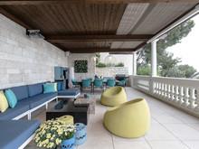 Загородный дом «Дизайн интерьера виллы в Монако», терраса  . Фото № 27568, автор NG-Studio