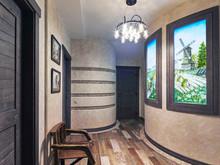 Загородный дом «Персональное решение», холл . Фото № 27673