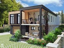 Загородный дом «Дом на возвышенности», фасад . Фото № 27768, автор Махнач Виктория
