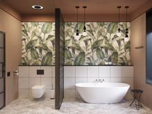 Загородный дом «Tropical elegance», ванная . Фото № 27839, автор Горохова Елена