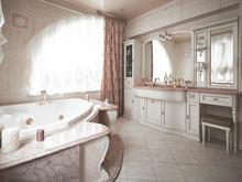 Загородный дом «Дом из старой дачи», ванная . Фото № 27894, автор Андреевы Андрей и Екатерина