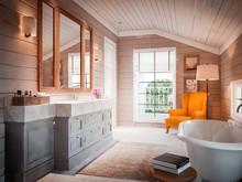 Загородный дом «ЗНАМЕНСКОЕ», ванная . Фото № 27949, автор INRE