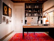 Загородный дом «Marselle», кабинет . Фото № 28100, автор INRE