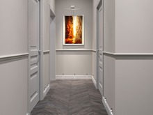 Загородный дом «Частное домовладение», коридор . Фото № 28383, автор Нестеренко Юлия
