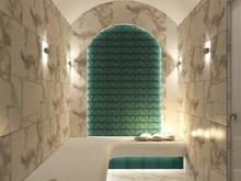 Загородный дом «Дизайн-проект частного дома в Ялте», ванная . Фото № 28583, автор Дуквен Ольга