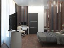 Загородный дом «Дизайн-проект частного дома в Ялте», спальня . Фото № 28584, автор Дуквен Ольга