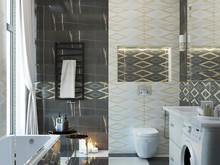 Загородный дом «Дизайн-проект частного дома в Ялте», ванная . Фото № 28581, автор Дуквен Ольга