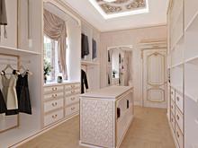 Загородный дом «Киевская область. Дом для большой семьи.», гардеробная . Фото № 28600, автор Петюк Ольга