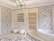 Загородный дом «Киевская область. Дом для большой семьи.», ванная . Фото № 28601, автор Петюк Ольга