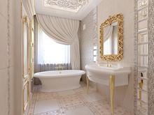 Загородный дом «Киевская область. Дом для большой семьи.», ванная . Фото № 28602, автор Петюк Ольга
