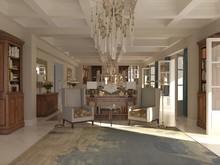Загородный дом «Частная вилла в Италии», гостиная . Фото № 28628, автор Болотный Евгений