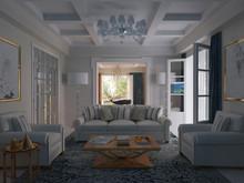 Загородный дом «Частная вилла в Италии», комната отдыха . Фото № 28629, автор Болотный Евгений