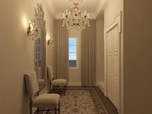 Загородный дом «Частная вилла в Италии», коридор . Фото № 28636, автор Болотный Евгений