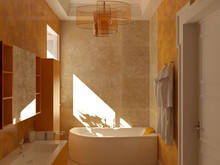 Загородный дом «Частная вилла в Италии», ванная . Фото № 28635, автор Болотный Евгений