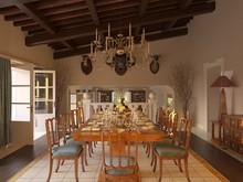 Загородный дом «Частная вилла в Италии», столовая . Фото № 28633, автор Болотный Евгений