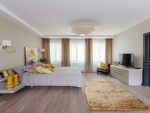 Загородный дом «Бельгийский серый в России.», спальня . Фото № 28867, автор EGO-DESIGN архитектурное бюро