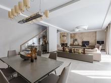 Загородный дом «Бельгийский серый в России.», гостиная . Фото № 28866, автор EGO-DESIGN архитектурное бюро