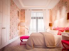 Загородный дом «Кострома Интерьер», спальня . Фото № 29224, автор INRE