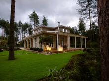 Загородный дом «Охтинский парк», участок . Фото № 29280, автор DEREVO PARK Студия ландшафтного дизайна