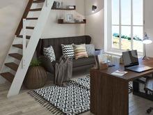 Загородный дом «Cozy dock», кабинет . Фото № 29377, автор Studio57 Interior Design