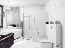 Загородный дом «Дуплекс в Одинцово», ванная . Фото № 29595, автор Крылова Татьяна