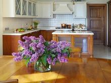 Загородный дом «Загородный дом для молодой семьи», кухня . Фото № 29721, автор Быстрова Анна