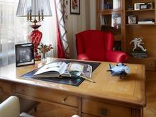 Загородный дом «Загородный дом для молодой семьи», кабинет . Фото № 29724, автор Быстрова Анна