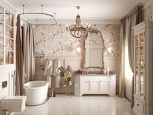 Загородный дом «Дом идеального детства», ванная . Фото № 30105, автор Турова Екатерина