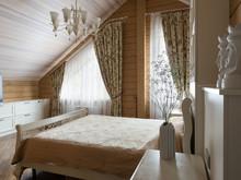 Загородный дом «Усадьба Мамоново», спальня . Фото № 30229, автор Разуваева Марина