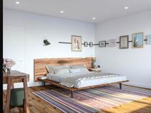 Загородный дом «Загородный дом с элементами скандинавского стиля», спальня . Фото № 30604, автор Сапрыкина Светлана
