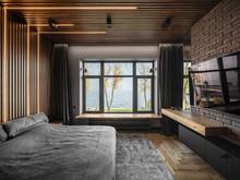 Загородный дом «UI042», спальня . Фото № 30704, автор U-Style
