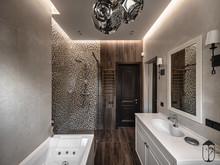 Загородный дом «UI042», ванная . Фото № 30708, автор U-Style