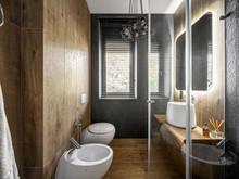 Загородный дом «UI042», ванная . Фото № 30702, автор U-Style