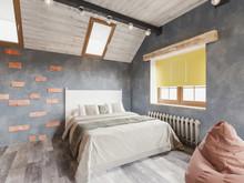 Загородный дом «Загородный дом в стиле рустик», спальня . Фото № 30723, автор Корпан Ксения