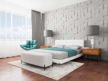 Спальня в загородном доме, фото № 8363, АртИдея студия архитектуры и дизайна