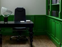 Загородный дом «Французский дом с итальянской мебелью», кабинет . Фото № 30905, автор Шалдыбина Светлана