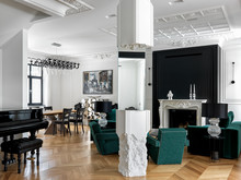 Французский дом с итальянской мебелью, фото № 8393, Шалдыбина Светлана